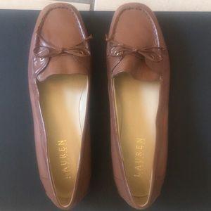 Ralph Lauren brown leather shoe